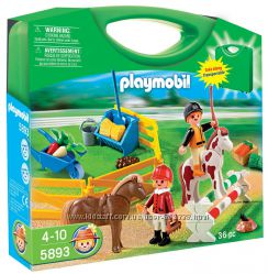 PlaymobiL 5893 набор в чемодане ЛОШАДКИ