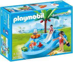 Playmobil 6673 бассейн c горкой Супер-цена