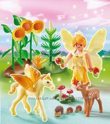 Playmobil Сказочные принцессы лето осень зима весна