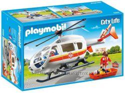 Playmobil 6686 Спасательный вертолет новинка