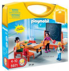 Playmobil 5971 суперский набор в чемодане ШКОЛА