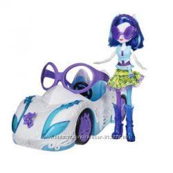 My little Pony DJ PON и кабриолет, Equestria Girls
