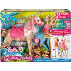 Barbie и лошадка, веселые танцы, DMC 30, Mattel, Оригинал