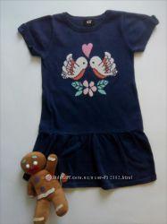 Платье-туника на девочку, рост 98-104, фирма H&M