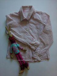 Рубашка на девочку, рост 122, фирма H&M