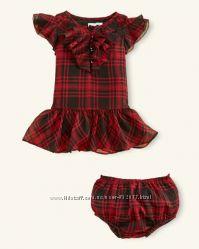 Нарядное платье Ralph Lauren р-р 9 мес Оригинал в подарочной упаковке