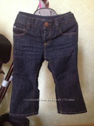 Gap, джинсики, хб подкладка, 12-18 месяцев