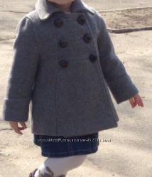 Пальтишко Zara kids, 2-3 годика