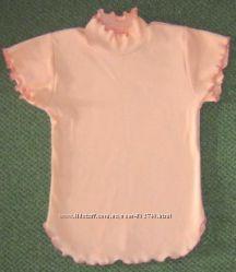 Блузка рубчик для девочки на рост 110-116 см