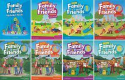 Family and friends 2nd CB-WB-GR цветная копия - Starter, 1, 2, 3, 4, 5, 6