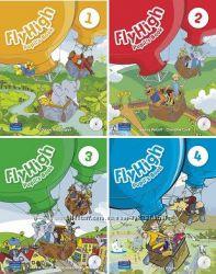 Комплект Flyhigh Pupil&acutes book  Activity book 1, 2, 3, 4