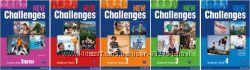 Комплект New Challenges Student&acutes Book  Work Book
