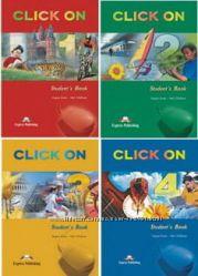 Комплект Click On 1, 2, 3, 4 Student&acutes Book  Work Book