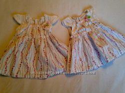 летние платья для двойни несколько моделей