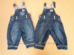 Комбинезоны из тонкого джинса 74 размера Coolclub ост один