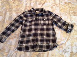 Продам байковую рубашку F&F на 10-11 лет