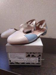 Продам босоножки-балетки Welfare, 38 размер, кожаные.