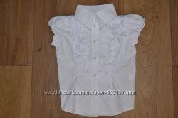 Школьная форма рубашка с коротким рукавом