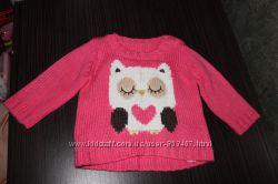 теплый свитерок george 6-9мес