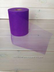 Фатин в рулонах для рукоделия, юбок пачек, декора