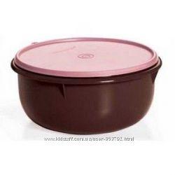 Замесочное блюдо 3 л Tupperware в шоколадно-розовом цвете
