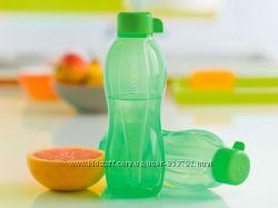 Эко-бутылка Tupperware 500 мл в зеленом цвете