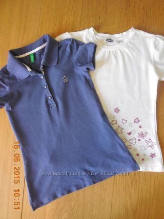 Поло и футболка Benetton, Chicco в новом состоянии