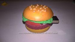 Необычная флешка в форме гамбургера на 8Гб. Бесплатная доставка УП
