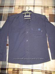 Школьная рубашка 7-9 лет