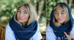 снуды-шарф хомут