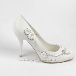 свадебные туфли 3 вида