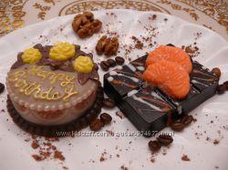 Сувенирное мыло Торт С Днем рождения