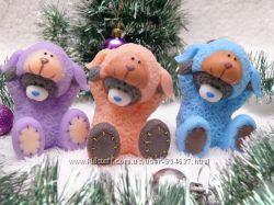 Мыло 3D Мишка Тедди в костюме овечки