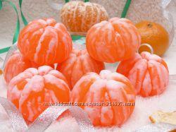 Мыло мандарин чищеный