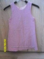 Розовый сарафан   100-116 рост.