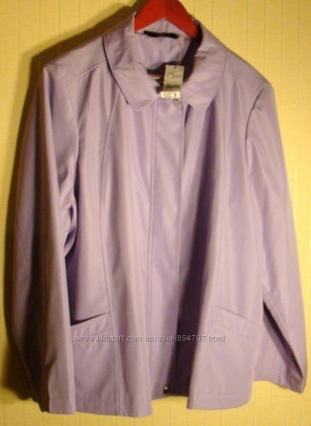 Куртка женская демисезонная плащевка батал BM Collection размер 60-64, XXX