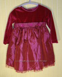 Платье детское нарядное George размер 74-80