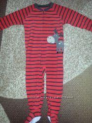 Продам флисову  пижамку carters на 3 года