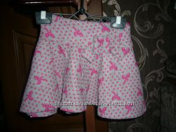 Теплые трикотажные юбки, пр-во Польша размер 98
