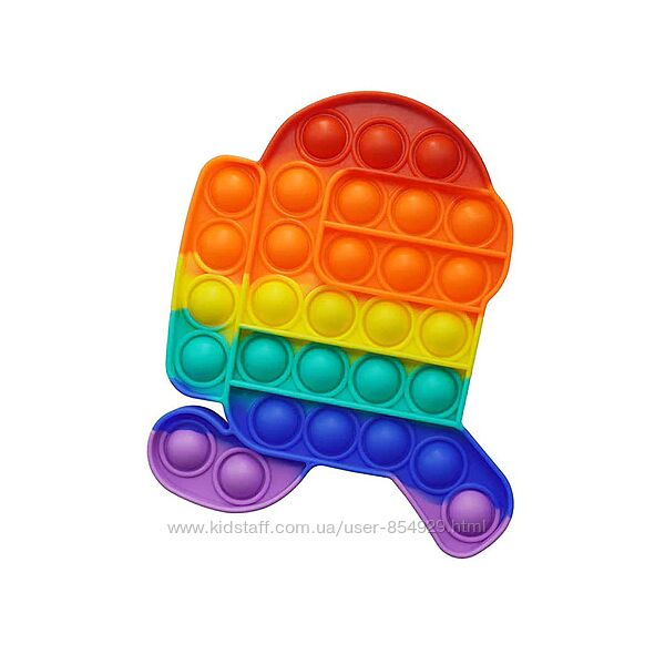 Антистресс Pop It, игрушка антистресс силиконовая Поп Ит много видов