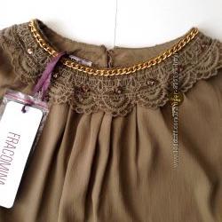 Блуза итальянского бренда FRACOMINA размер М