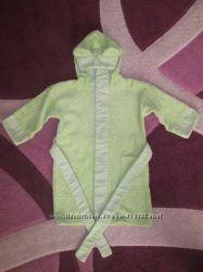 Детский махровый халат на 1-2, 5 года