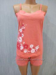 Пижама высоко качества Цветы р. 42, 50