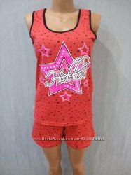 Пижама женская Звезда р. 46   Майка и шорты