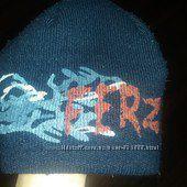 Тепла зимова шапка на хлопчика 7-8 років