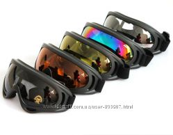 Маска мотороллерная, очки лыжные,  новые