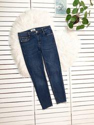 Синие джинсы скинни Zara p. S-М