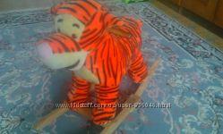 Тигрик-качалка с музыкой