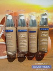 Акция Seventeen Устойчивый питательный тональный крем Natural Velvet