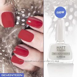 Seventeen Матовый закрепитель для ногтей Matt Finish